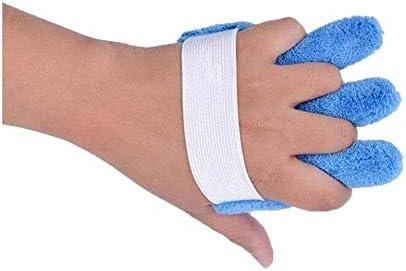 Palm-Schutz-Finger-Separatoren Hand Kontraktur Orthese, Weich Palm Kissen for Finger Kontrakturen Prävention Palm-Schutz mit Fingern Bequem, for Schlaganfall / Hemiplegia / traumatische Hirnverletzung