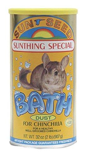 Sunseed Chinchilla Bath Dust - 30 oz