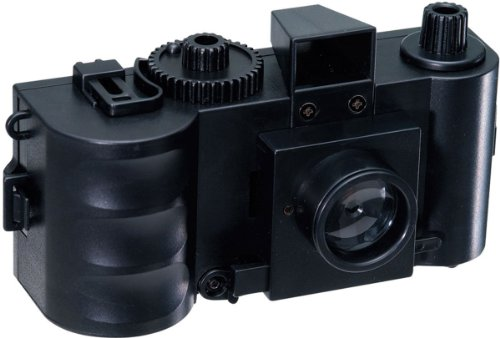 Gakken Lens x Pinhole 35mm Camera Educational Kit with 68 Page Science Guide by Gakken