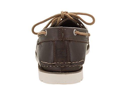 Sperry Top-sider Mens Scarpe Da Barca Sottoveste Marrone Scuro