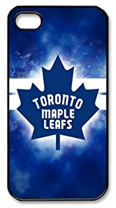 Toronto Maple Leafs logo Customizable iphone 4/4s Case by LZHCASE