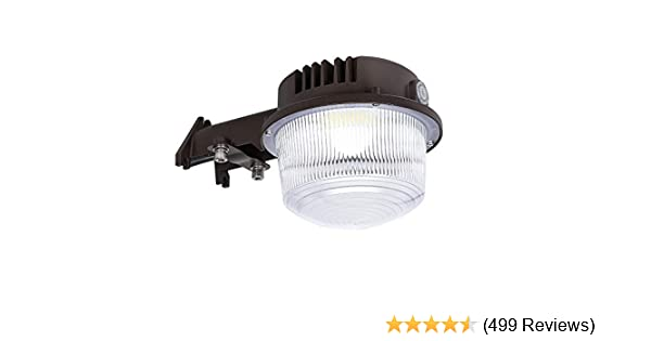 Hykolity 40w led yard light outdoor area weatherproof barn lighting fixture
