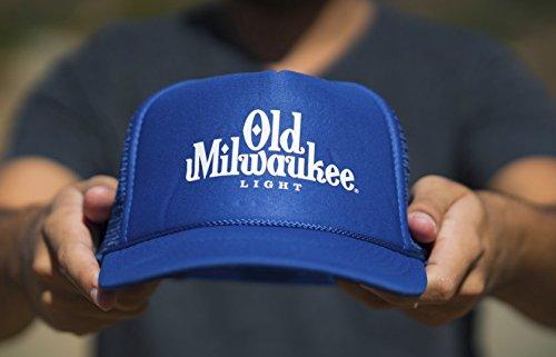 old-milwaukee-light-beer-trucker-hat-blue-white