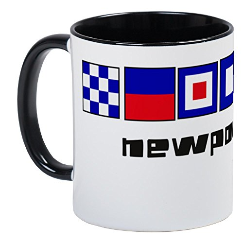 CafePress - Newport Ri Nautical-Page1 Mug - Unique Coffee Mug, Coffee Cup
