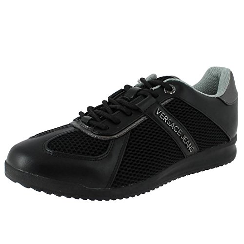Versace Jeans Suede Sneakers Black product image