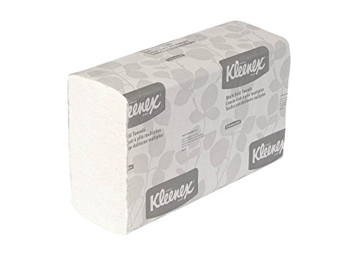 Kleenex Multifold Paper Towels (01890), White, 16 Packs/Case, 150 Multifold Towels/Pack from Kimberly-Clark Professional