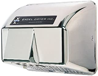 product image for Excel Dryer HO-IC Hand Dryer Hands Off, Automatic, Cast Cover, Surface-Mounted, Chrome Plated, 110-120V 60Hz