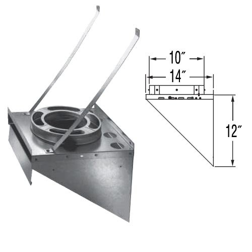 Dura Vent 9072 6-Inch Tee Support