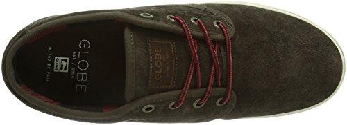 Globe Motley GBMOTLEY - Zapatillas de cuero unisex Marrón - Braun (dark brown 17253)