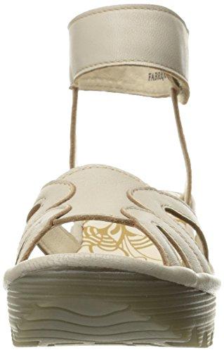 original cheap price outlet recommend FLY London Women's YASA750FLY Wedge Sandal Concrete Mousse 9cQxZ