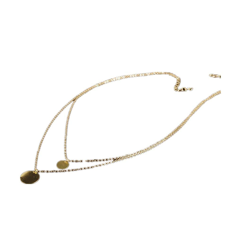 Fishbone Shaped Unique National Pendant Necklace Collarbone Chain Women Gift