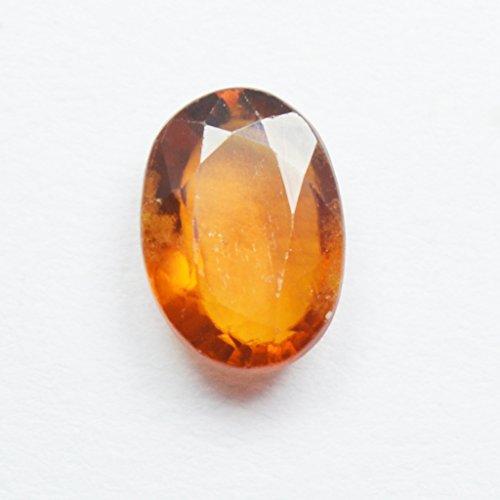 55carats Ceylon Hessonite 5.5carat Naturel Original ovale Pierre précieuse de courroie