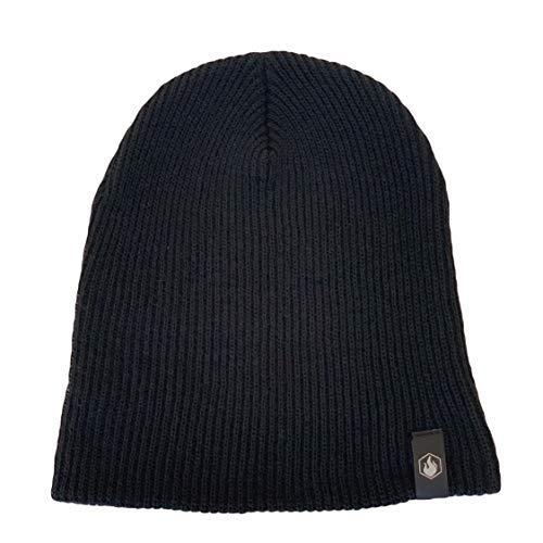 American Bonfire Co- The Black - Black Bonfire Beanie