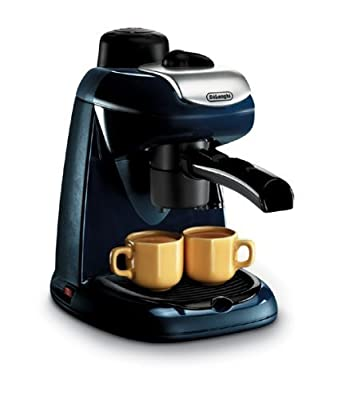 Delonghi EC7 4-Cup Cappuccino and Coffee Maker, 220-Volts (Not for USA)