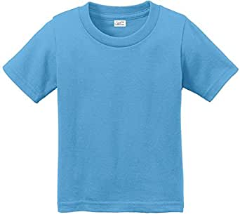 Toddler tees soft and cozy cotton t shirts for Aqua blue color t shirt