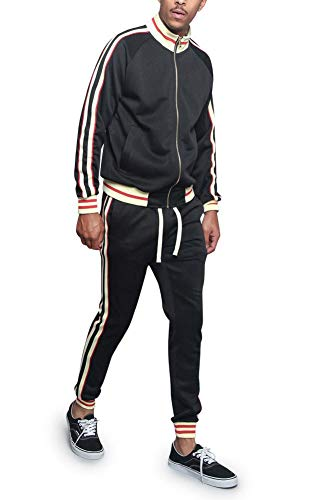 Used, Victorious Men's G Track Suit Set ST5014-577 - Black for sale  Delivered anywhere in USA