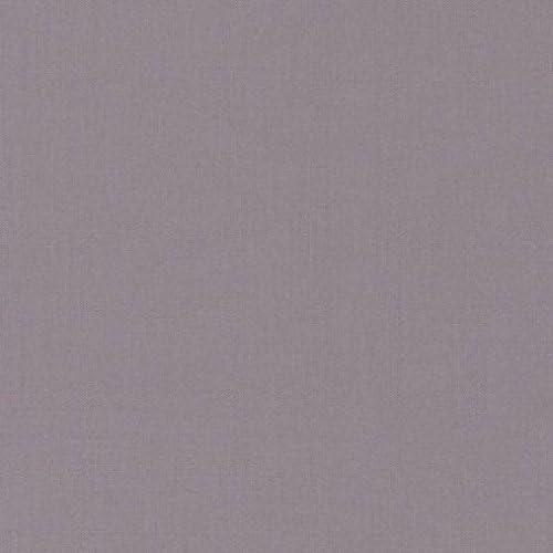 Higgs & Higgs Devon Plain Cotton - Tela de popelina de color gris ...