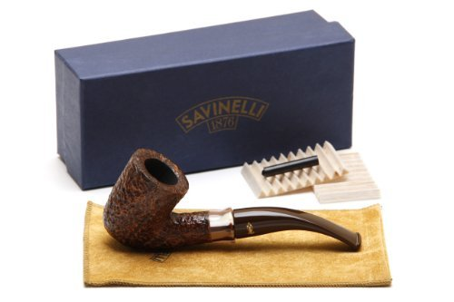 Savinelli Caramella Rustica 611 KS Tobacco Pipe by Savinelli