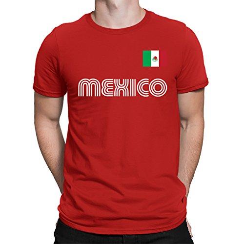 SpiritForged Apparel Mexico Soccer Jersey Men s T-Shirt 20d4c5770