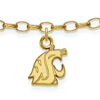Cheap Washington State Anklet (Gold Plated) for sale