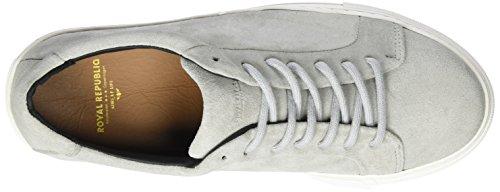Para Royal Shoe Elpique Gris light Republiq Mujer Suede Zapatillas Gris ttX5Brxw