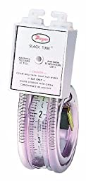 Dwyer Slack Tube Series 1211 Handy Roll-Up Manometer, Pressure Range 18-0-18\