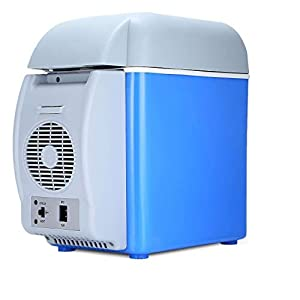 Krimen Car Fridge Freezer Cooler Warmer 12V Mini Camping Refrigerator 7.5L