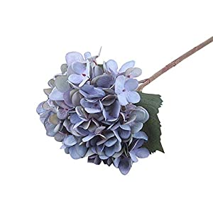 FOONEE Faux Hydrangea Flowers, Artificial/Fake Hydrangea Flowers Fake Silk Bouquet Flower Wedding Arch Flowers,Home Decoration 80