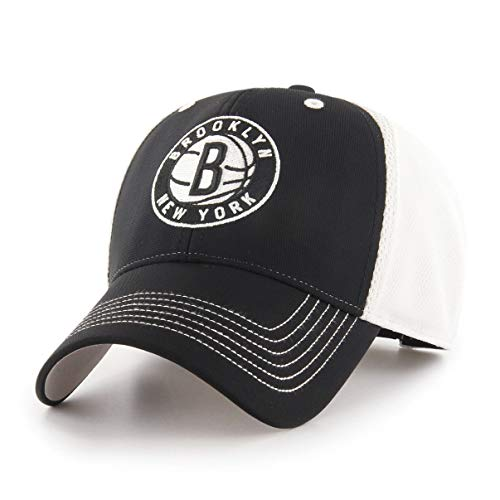 NBA Brooklyn Nets Sling OTS All-Star Adjustable Hat, Black, One Size ()