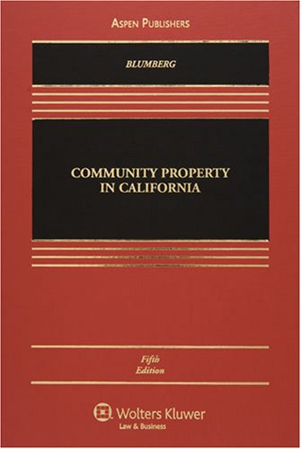 Community Property in California (Casebook)