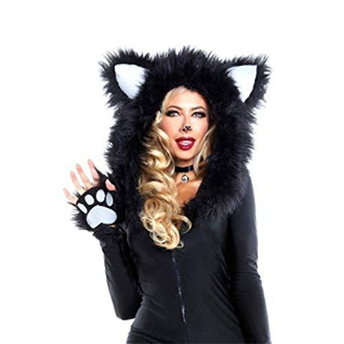 Ragazza Zxx Halloween Gioco Ruolo Leopardo Uniforme Tentazione Print Nuovo E Di Europeo Sexy Leopard Americano Gatto xSXTSfw
