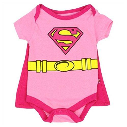 DC Comics Supergirl WB Supergirl Girls 0-9 Month