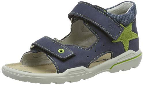 Ricosta Boys' Joey Closed Toe Sandals, Blue (Nautic 171) 7 UK ()