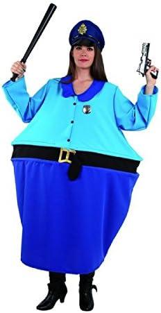Disfraz de jefa de policía gorda para mujer: Amazon.es: Juguetes y ...
