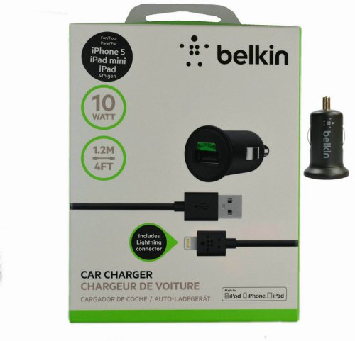 belkin iphone charger review belkin mixit car charger with lightning cable for iphone 13566