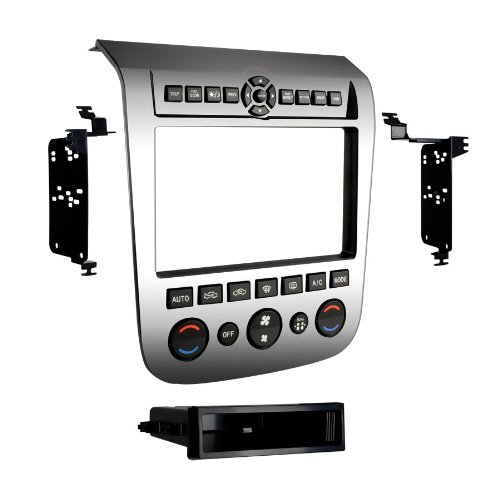 Metra 99-7612A Single/Double DIN Installation Dash Kit with Aluminum Finish for 2003-2007 Nissan Murano by Metra