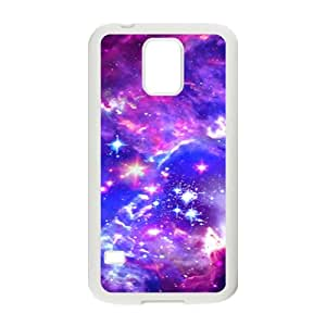 Galaxy Hipster Cat Cell Phone Case for Samsung Galaxy S5