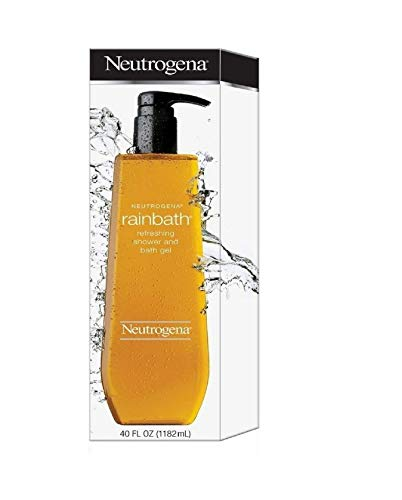 Neutrogena Rainbath Refreshing Shower and Bath Gel, 40 Oz Refill Bottles (Pack of 2)