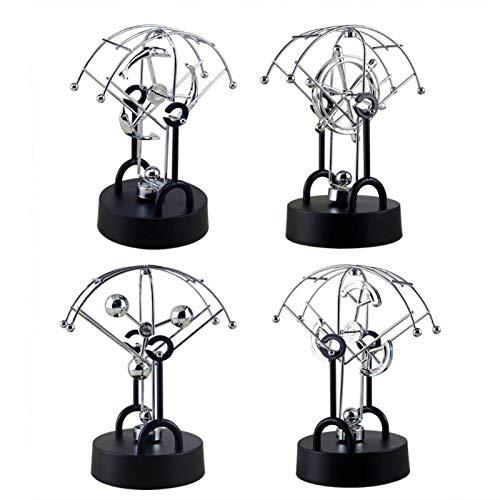 Decorative Decorative – 1piece Kinetic Art Mobile Milky Way Gizmos Perpetual Motion Spherical Pendulum Revolving Desk – Desktop Decor Pendulum Rat Art Toy Motion Miniatures Toy Gizmo P