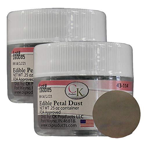 (Edible Petal Dust Cocoa - 2 Pack )