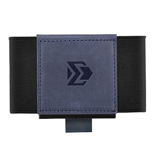 Minimalist Slim Wallet For Men Women - Elastic Thin Front Pocket Credit Card Holder (The Best Mens Wallet In The World)