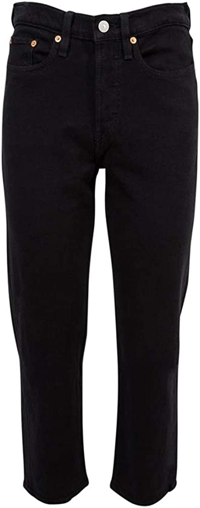 Levi's Wedgie Straight Pantalone Jeans Donna 0023 Black Heart
