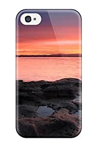Flexible Tpu Back Case Cover For Iphone 4/4s - Landscape Photography