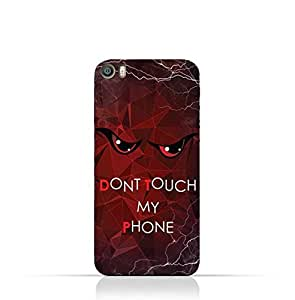 Xiaomi Mi 5 TPU Silicone Case with Dont Touch My Phone 3 Design