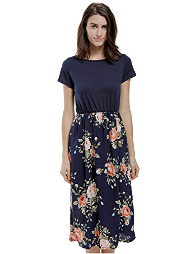 Blooming Jelly Womens Contrast Printed