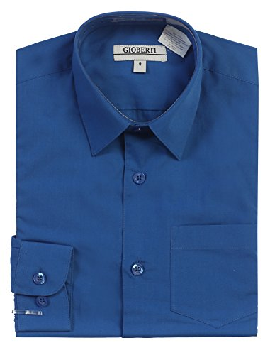 4t royal blue dress shirt - 2