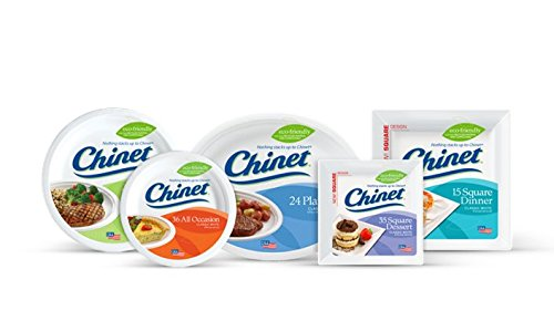 Chinet 10 3/8 Dinner Plate 100-count Box by Chinet (Image #2)