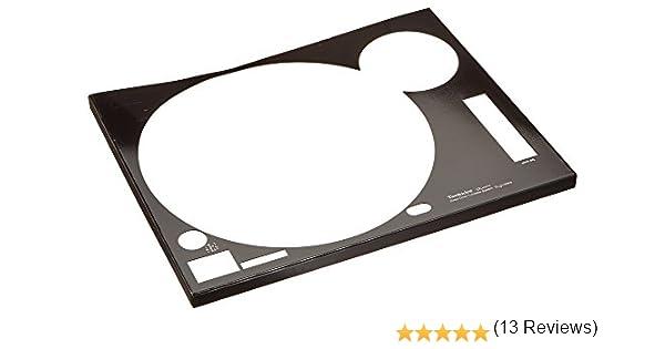 Zomo Faceplate Technics SL-1210 Mk2 Cubierta para tocadiscos ...