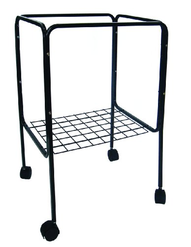 YML Stand for Cage Size 18 by 18-Inch and 18 by 14-Inch, Bla
