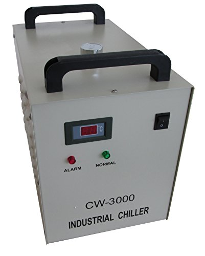 Review Industrial Water Cooling Chiller for CO2 Laser Tube Engraver Cutting Cutter/CNC CW3000 110V